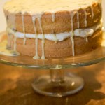 A Private Birth and Passionfruit Sponge Cake