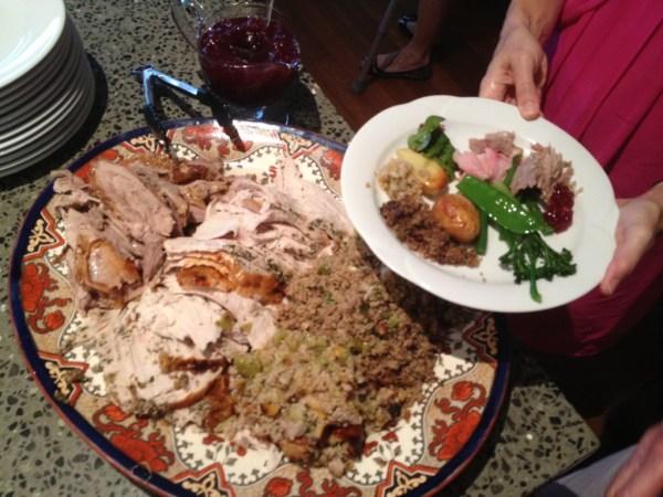 Turkey with seasonings