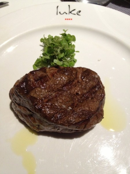 Eye-fillet of beef