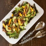 Truncated and Lectionary and…Avocado, Mango & Walnut Salad