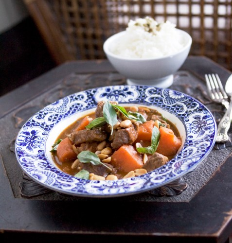 A very mild Thai curry