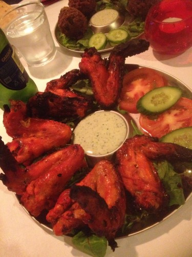 Tandoori Chicken Wings $12.00