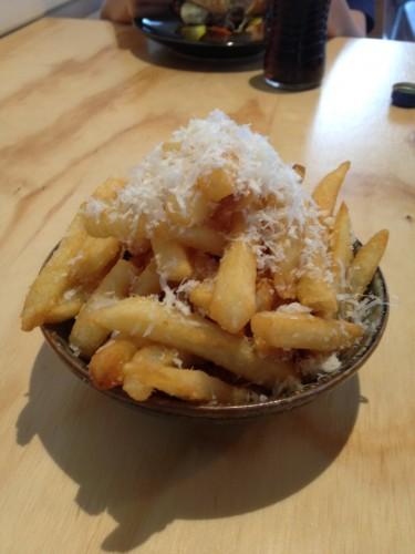 Parmesan Truffle Fries $8.00