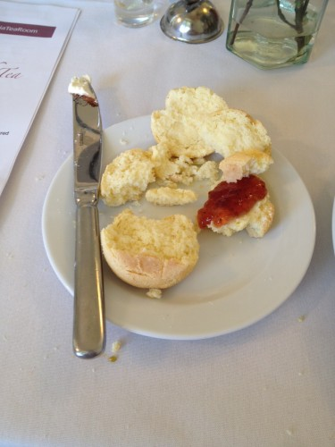 The scones that kept falling apart.