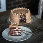 Sour Cream Black Forest Cake