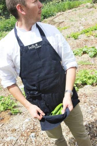 Cameron harvesting