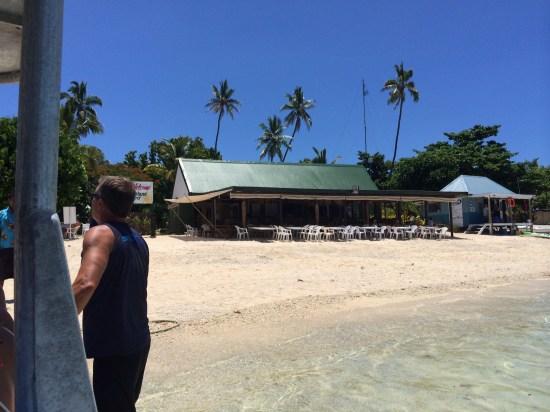 Arriving on Bounty Island