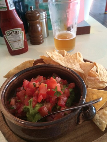 Guacamole, Salsa and Corn Chips -  $14.00