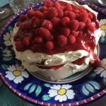 Raspberry Praline Meringue Cake – A Gluten-Free Dessert