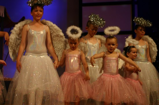 An angel with her Junior Trainee Apprentice Angels