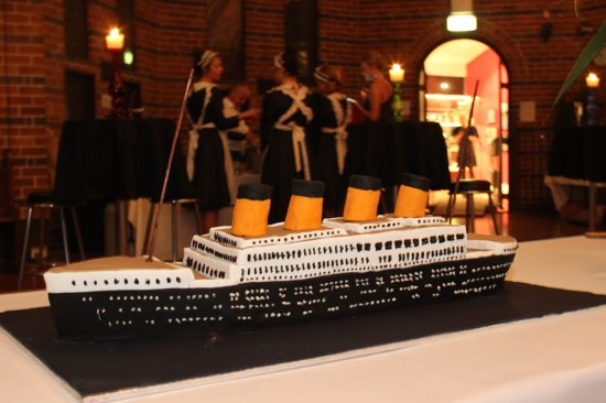A ship of Titanic proportions