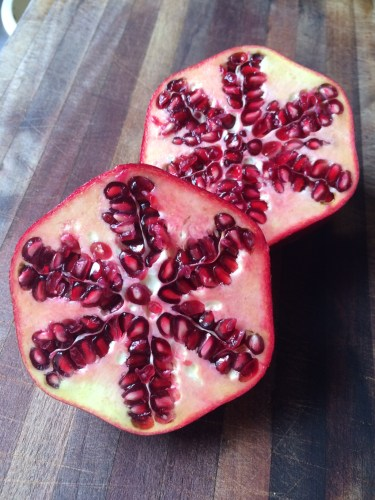 Pomegranates are so pretty