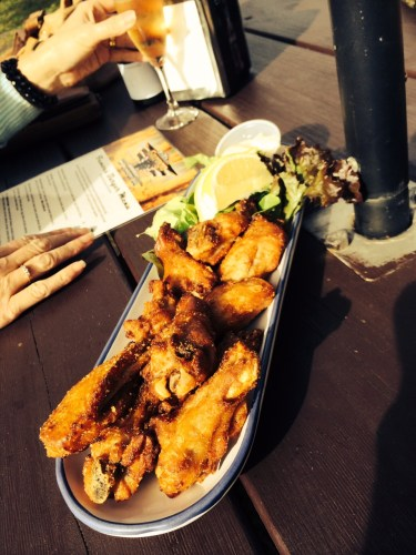 Plate of Spicy Chicken Wings $10.00