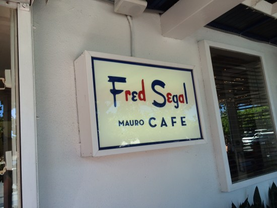 Mauro's Cafe, Fred Segal on Melrose Avenue