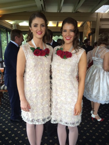 Bridesmaids dresses by Allanah Hill