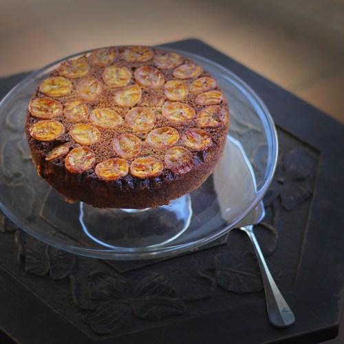A gluten-free cake