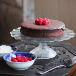 Flourless Double Chocolate Cake