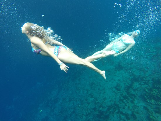 Exploring the blue hole