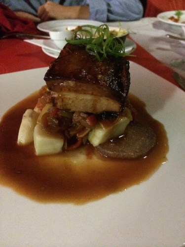 1606 Crispy Pork Belly:  2400 vt ($27.00)