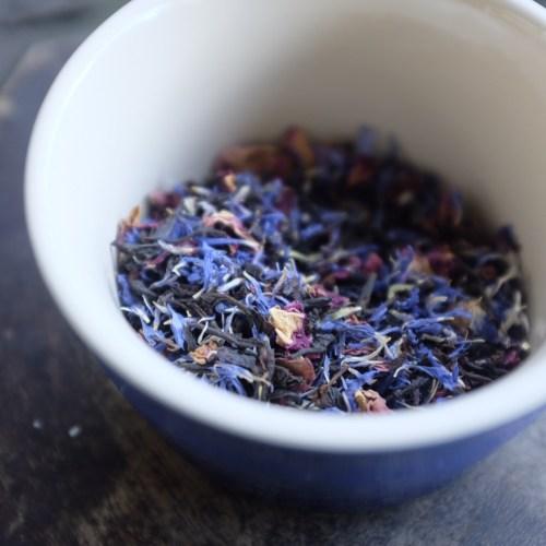 Very pretty Earl Grey tea