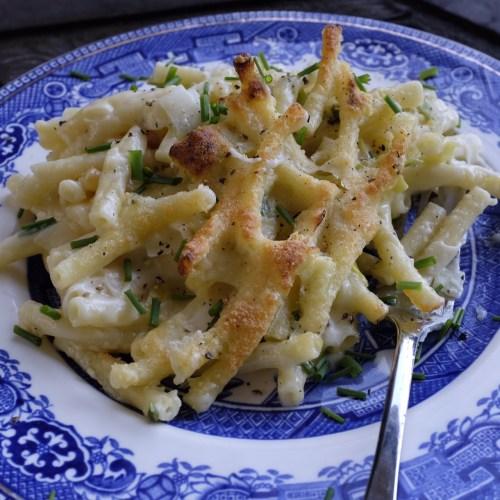 Macaroni Cheese with Leeks