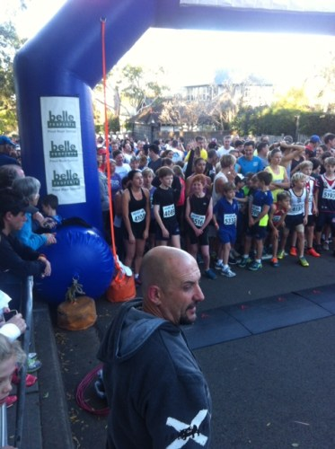 Start of the 5km