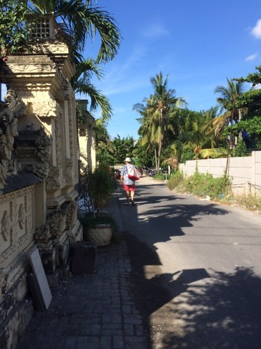 The lane that leads to Peppers, Seminyak