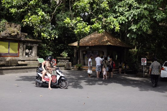 Outside the Monkey Forest, Ubud