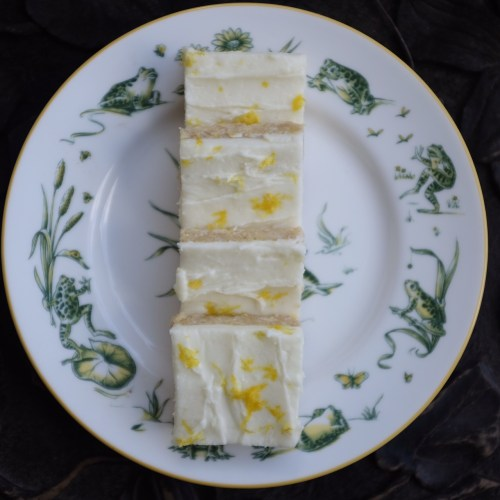 Sprinkle with lemon zest