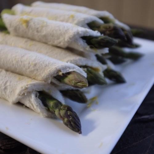 Made with fresh asparagus