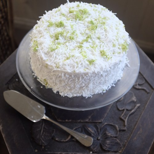 A cake with lots of texture