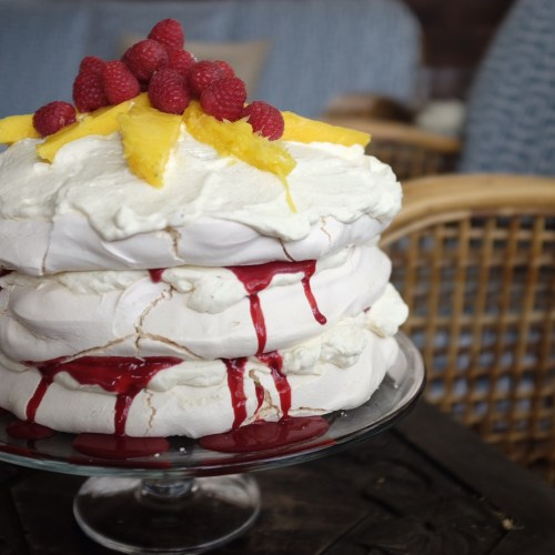 Triple layer pavlova