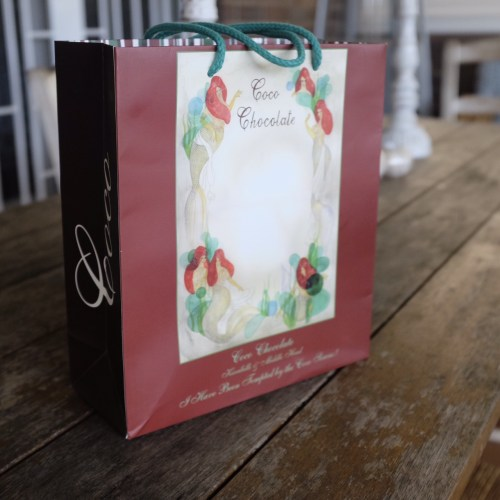Everything from Coco Chocolate is beautifully packaged