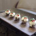 Mini Christmas Truffle Puddings