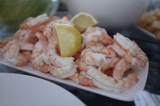 Prawns for the prawn cocktails