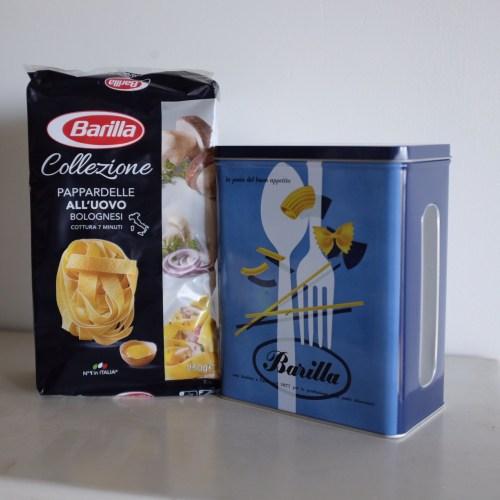 Barilla's new egg pasta
