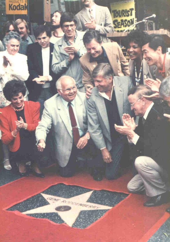 roddenberry star on hollywood walk of fame