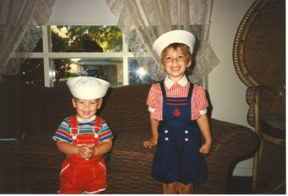 Navy brats at your service!
