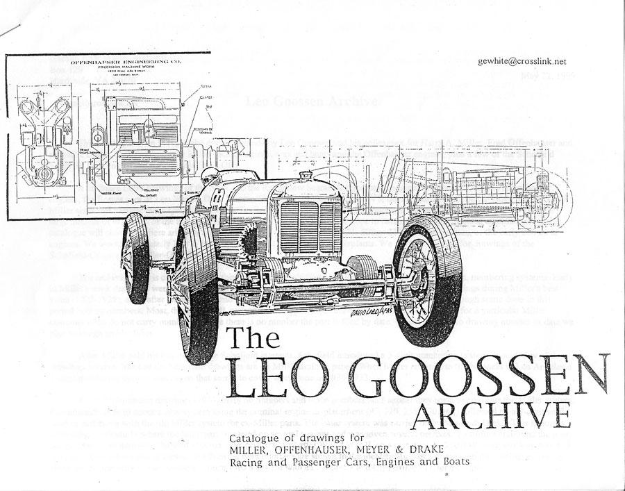 the leo goossen archive