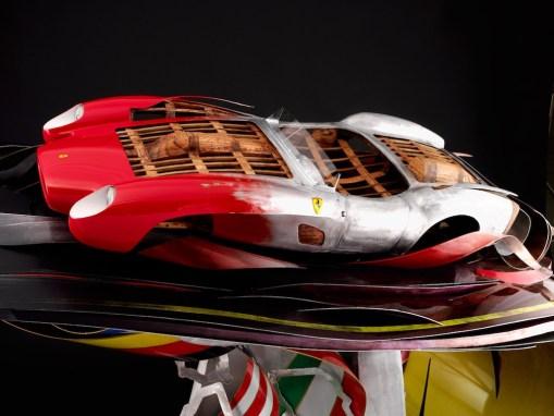 Ferrari Testa Rossa Automotive Sculpture