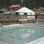 Gold Fork Hot Springs in Central Idaho