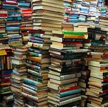 Image result for hoard of books