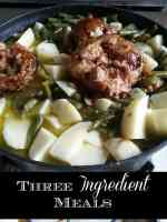 Three-Ingredient-Meal