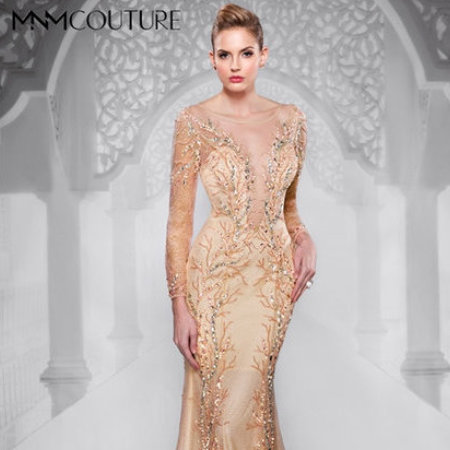 Charbel nader collection mnm couture prom dress 8850 for House of couture