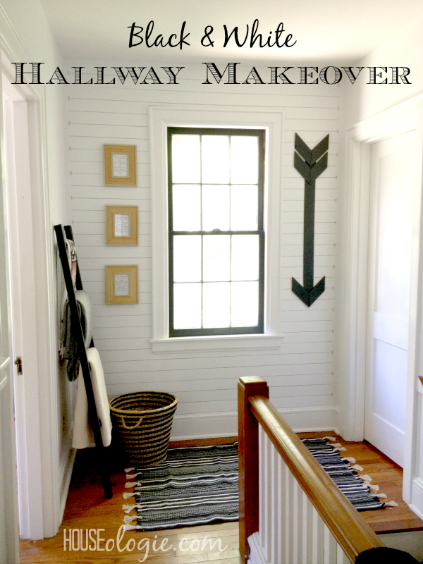 Hallway Makeover Reveal Pinterest