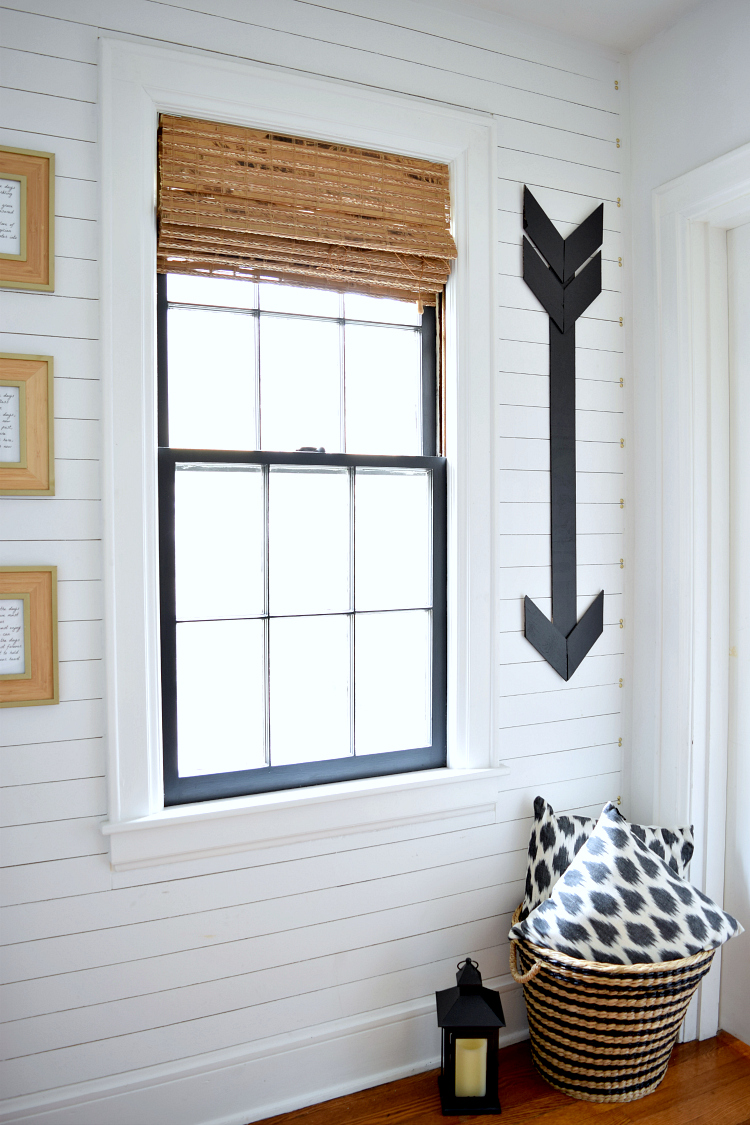 Shiplap in the Hallway