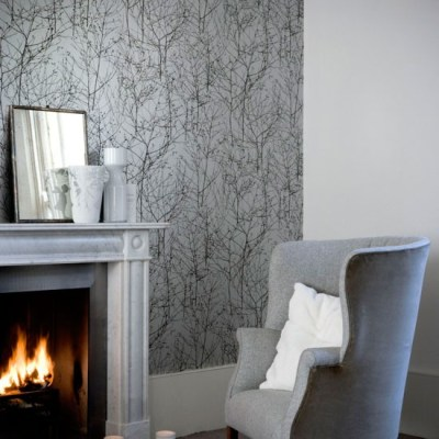 Shades of grey wallpaper | wallpaper designs | housetohome.co.uk