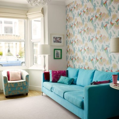 Colourful living room ideas - 20 of the best | housetohome.co.uk