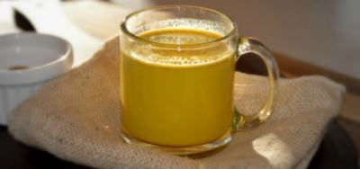 Golden Turmeric Milk Recipe - A delicious beverage to ease your aches