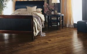 Bedroom with Engineered Wood Floor